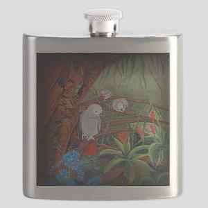 African Grey Tree Flask
