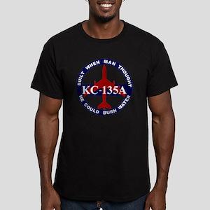 KC-135A - Built When M Men's Fitted T-Shirt (dark)