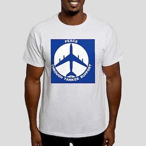 KC-135A - Peace Through Tanker Suppo Light T-Shirt