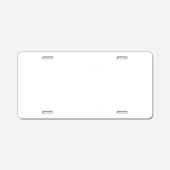 Welder-03-B Aluminum License Plate