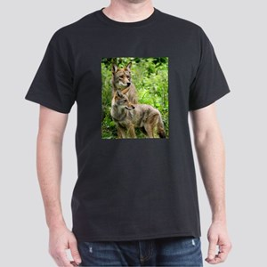 Coyote Photograph Dark T-Shirt