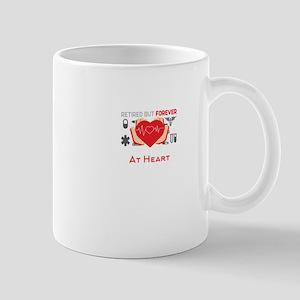Retired But Forever Pharmacist At Heart Mugs