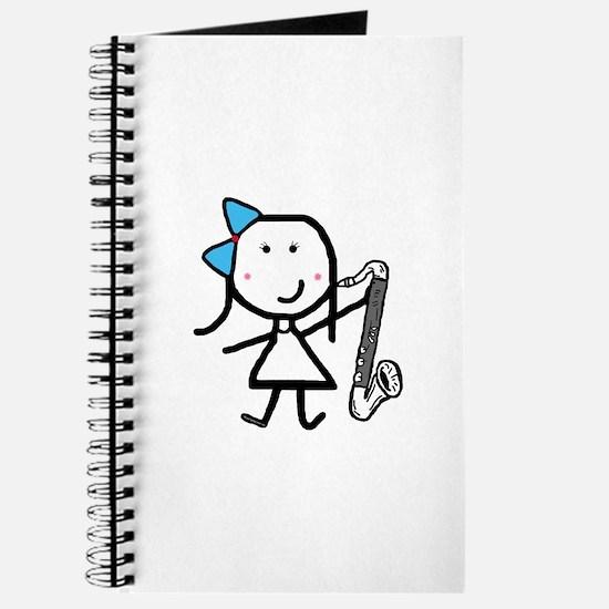 Girl & Bass Clarinet Journal