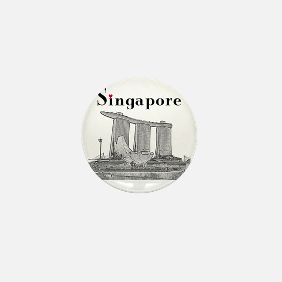 Singapore_10x10_v2_MarinaBaySandsMuseu Mini Button