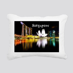 Singapore_11x9_CalendarP Rectangular Canvas Pillow