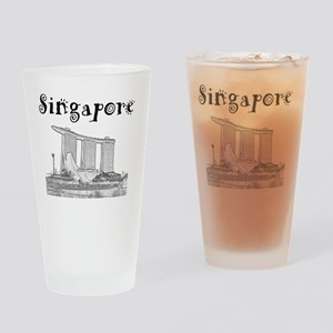 Singapore_12X12_MarinaBaySandsMuseu Drinking Glass
