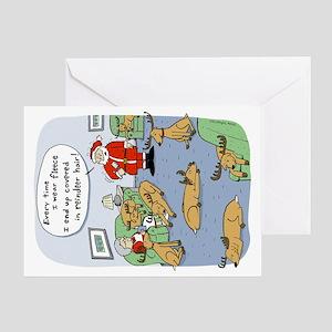 fleecenavidadhorz Greeting Card