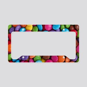 Colorful Candy License Plate Holder