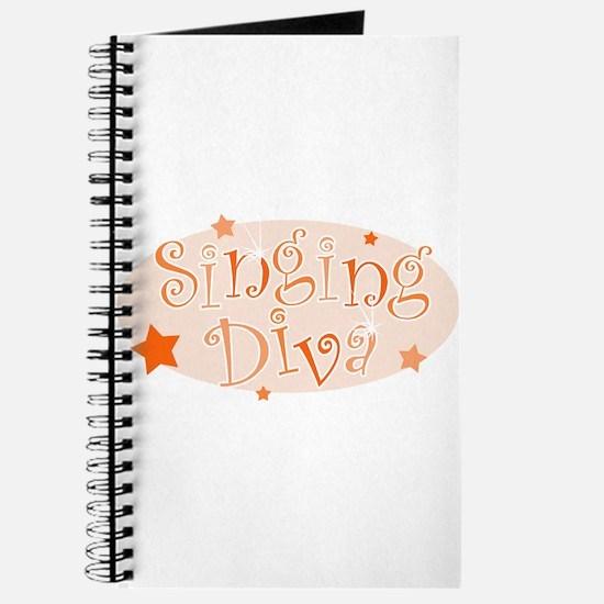 """""""Singing Diva"""" [orange] Journal"""