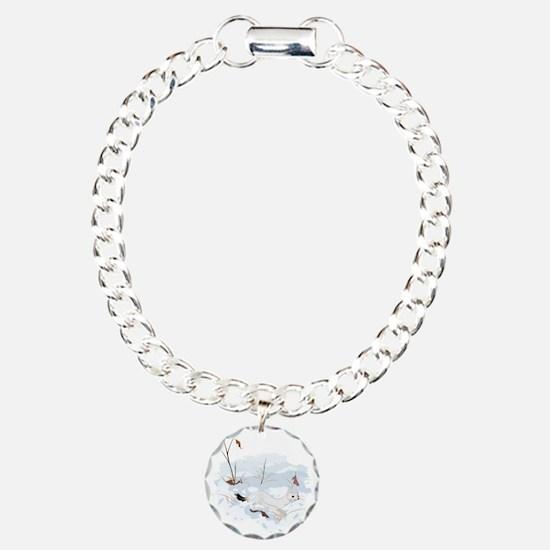 Ermine in the Snow Bracelet