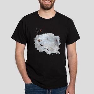 Ermine in the Snow Dark T-Shirt