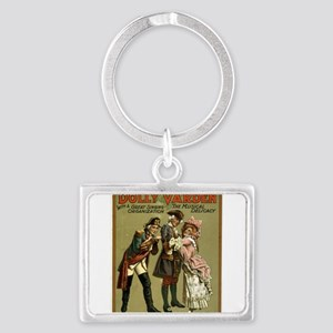Dolly Varden - US Lithograph - 1906 Keychains