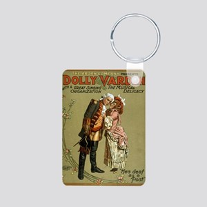 Dolly Varden 2 - US Lithograph - 1906 Keychains