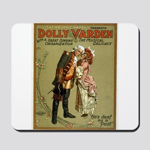 Dolly Varden 2 - US Lithograph - 1906 Mousepad