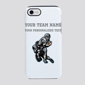 Football - Gray iPhone 7 Tough Case