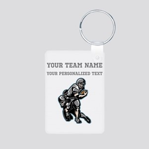 Football - Gray Keychains