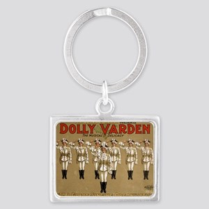 Dolly Varden 3 - US Lithograph - 1906 Keychains