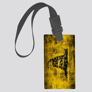 Gadsden Flag Dont Tread On Me Gr Large Luggage Tag