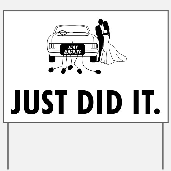 Just-Married-04-A Yard Sign