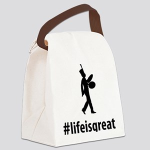Marching-Band---Bass-Cymbal-06-A Canvas Lunch Bag