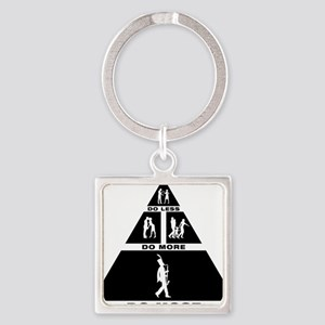 Marching-Band---Bass-Clarinet-11-A Square Keychain