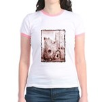 Crumbling Castle Jr. Ringer T-Shirt