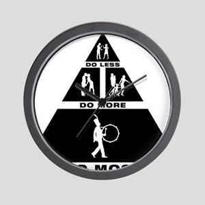 Marching-Band---Bass-Drum-11-A Wall Clock