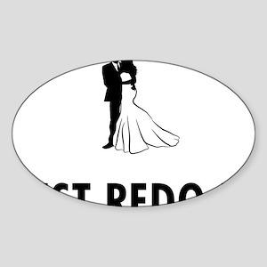 Married-05-A Sticker (Oval)