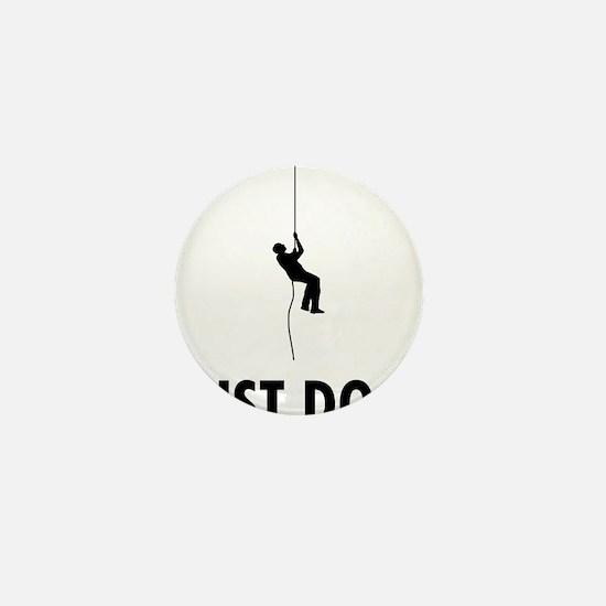 Abseiling-08-A Mini Button