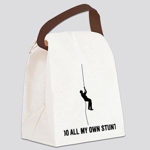 Abseiling-03-A Canvas Lunch Bag