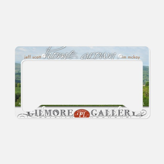 Home Grown Furniture Show License Plate Holder