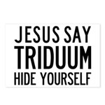 Jesus Say Triduum Small Group Postcards, 8 Pack
