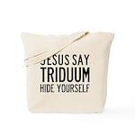 Jesus Say Triduum Tote Bag, Two Sided