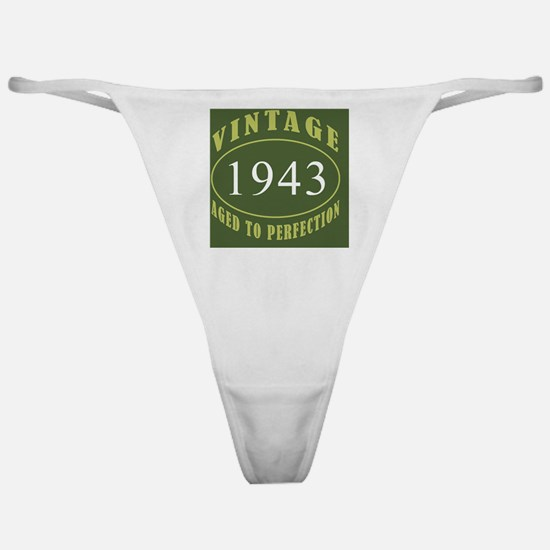 Vintage 1943 Coaster Classic Thong