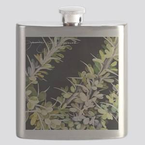 Ocotillo Painting Flask