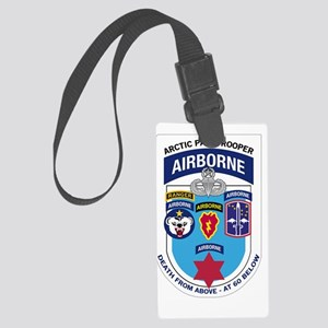 Arctic Paratrooper Large Luggage Tag