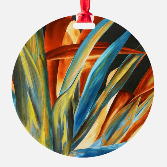 Giant Agave Painting Ornament