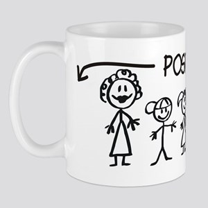 Stick  Family Man Position Open Mug