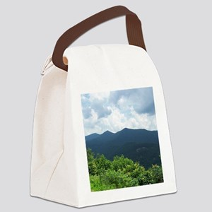 Blue Ridge Parkway near Asheville Canvas Lunch Bag