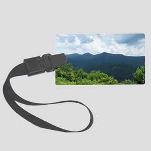 Blue Ridge Parkway near Ashevill Large Luggage Tag