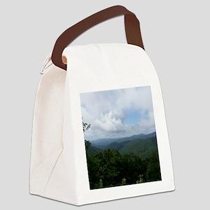 Blue Ridge Parkway - Asheville, N Canvas Lunch Bag