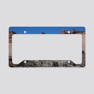 Delicate Arch in Arches Natio License Plate Holder