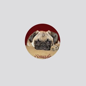 Adorable iSnuggle Pug Puppy Mini Button