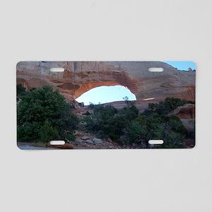 Wilson Arch - Moab Utah Aluminum License Plate