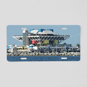 Pier Aluminum License Plate