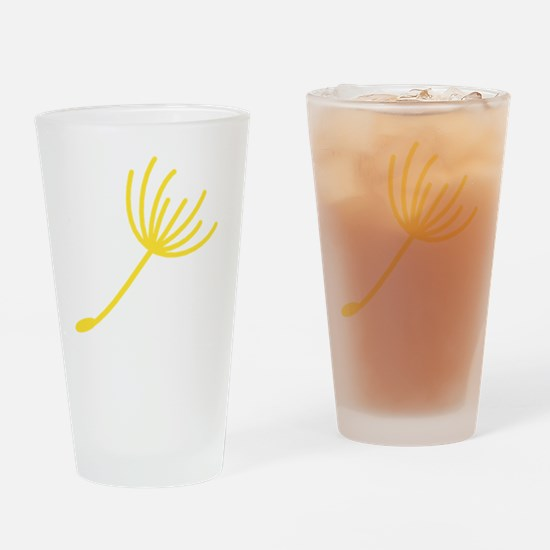 EMID Families Yellow Single Dandeli Drinking Glass