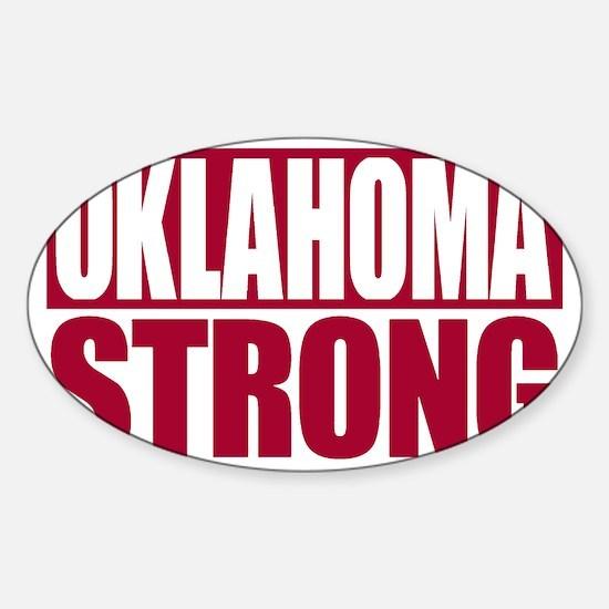 Oklahoma Strong Sticker (Oval)