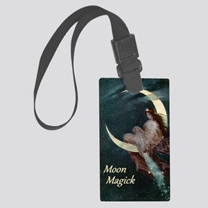 The Fairy of the Moon by Hermann Large Luggage Tag