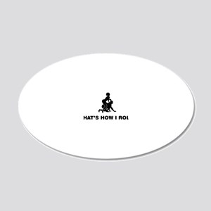 Slave-To-Women-02-12-A 20x12 Oval Wall Decal