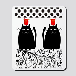 Black Cats Mousepad
